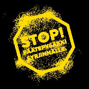 Päätepysäkki logo.